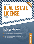 Master the real estate license exams.