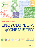 Van Nostrand's encyclopedia of chemistry.