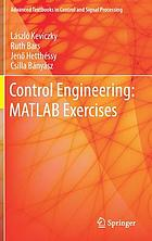 Control engineering : MATLAB exercises