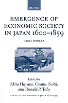 Emergence of economic society in Japan, 1600-1870