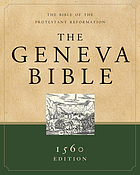 The Geneva Bible : a facsimile of the 1560 edition