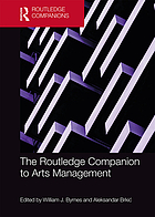 Routledge Companion to Arts Management