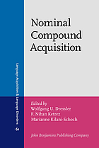 Nominal compound acquisition