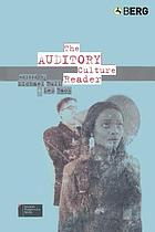The auditory culture reader