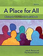 A place for all : ministry for youth with special needs