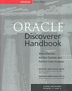 Oracle discoverer handbook