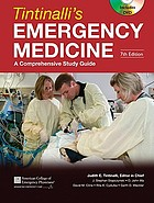 Tintinalli's emergency medicine : a comprehensive study guide