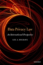 Data privacy law : an international perspective.