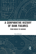 A comparative history of bank failures : from Medici to Barings
