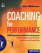 Coaching for performance.