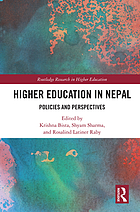 Higher education in Nepal : policies and perspectives
