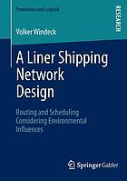 A liner shipping network design : routing and scheduling considering environmental influences