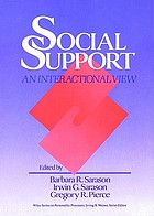 Social support : an interactional view