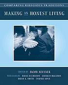 Making and honest living : what do we owe the community.