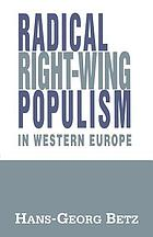 Radical right-wing populism in Western Europe