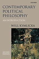 Contemporary political philosophy : an introduction