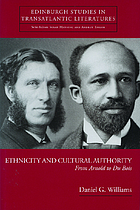 Ethnicity and cultural authority : from Arnold to Du Bois