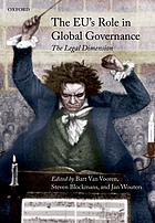The EU's role in global governance : the legal dimension