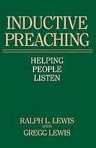 Inductive preaching : helping people listen