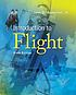 Introduction to flight by  John David Anderson