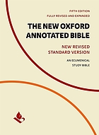 The new Oxford annotated Bible : New Revised Standard version : an ecumenical study bible