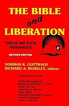 The Bible and liberation : political and social hermeneutics