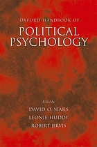 Oxford Handbook of political psychology