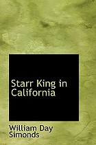 Starr King in California.