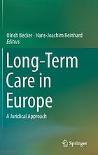 Long-term care in Europe a juridical approach