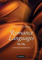 Romance languages : a historical introduction