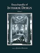 Encyclopedia of interior design. Volume I-2, A-Z