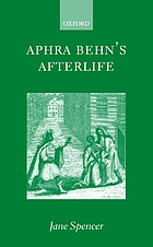 Aphra Behn's afterlife
