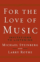 For the love of music : invitations to listening