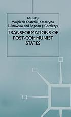 Transformations of post-communist states