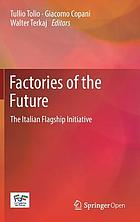 Factories of the future : the Italian Flagship initiative