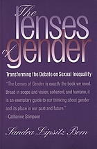 The lenses of gender : transforming the debate on sexual inequality