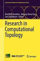 Research in computational topology