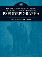 The apocrypha and pseudepigrapha of the Old Testament : with introductions and critical and explanatory notes to the several books