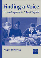 Finding a voice : personal response to A level English