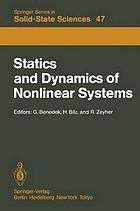 Statics and dynamics of nonlinear systems : proceedings of a workshop; Erice, 1-11 July, 1983 : (lectures and seminars delivered at the workshop)