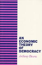 An economic theory of democracy.