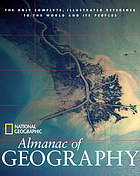 National Geographic almanac of geography.