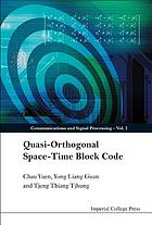 Quasi-orthogonal space-time block code