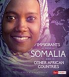 Immigrants from Somalia and other African countries