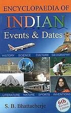 Encyclopaedia of Indian events & dates