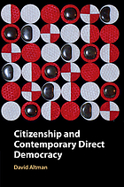 Citizenship and contemporary direct democracy
