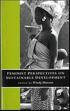 Feminist perspectives on sustainable development