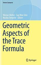 Geometric aspects of the trace formula
