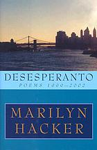 Desesperanto : poems, 1999-2002