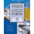 Home builder contracts & construction management forms.